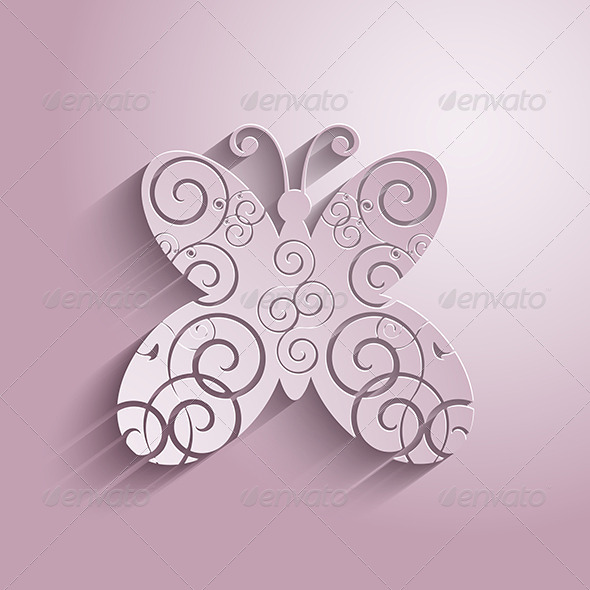 GraphicRiver Decorative Butterfly 4626589
