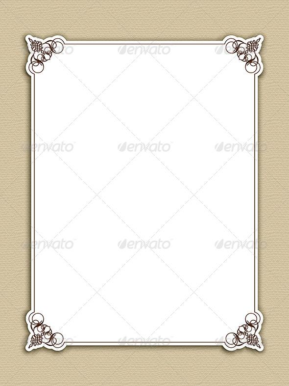 GraphicRiver Decorative Frame 4627474
