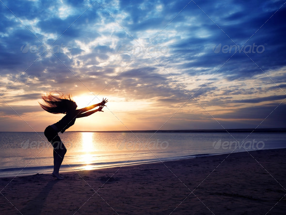 Magic sunset - Stock Photo - Images