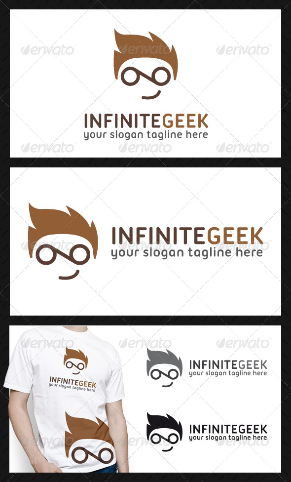 GraphicRiver Infinite Geek Logo Template 4627947