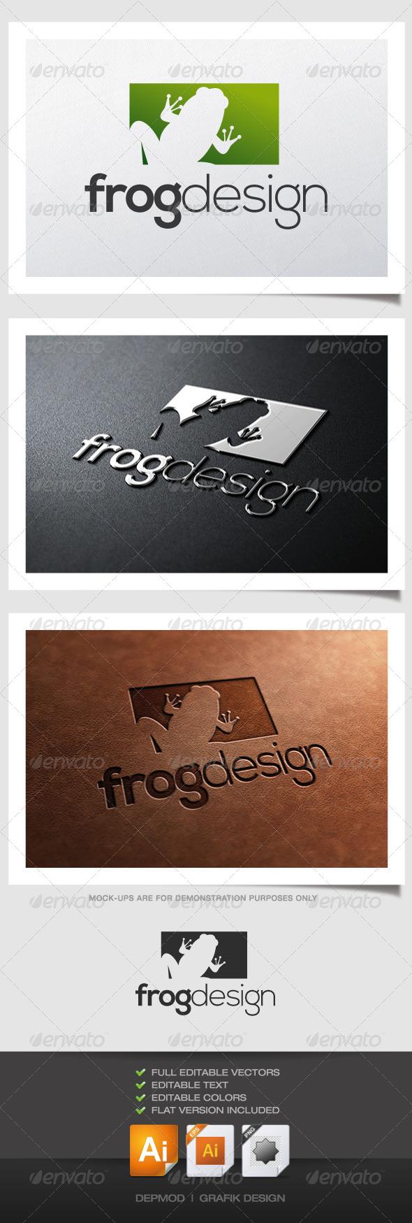 GraphicRiver Frog Design Logo 4628354
