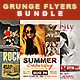 Grunge Flyers Bundle - GraphicRiver Item for Sale