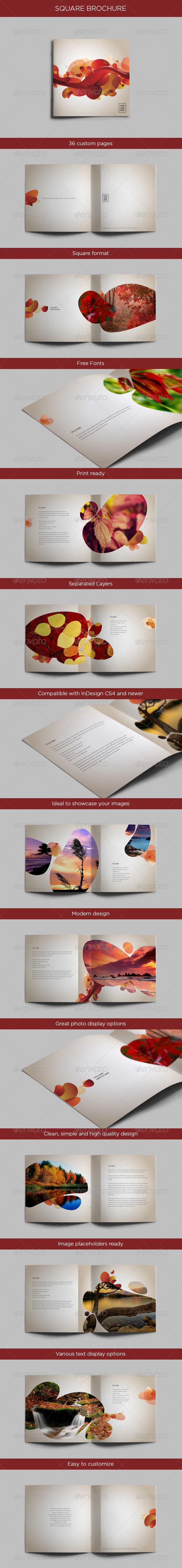 GraphicRiver Square Brochure 4628780