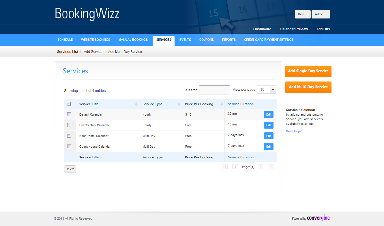 Calendar Booking System Php : Booking system by criticalgears codecanyon