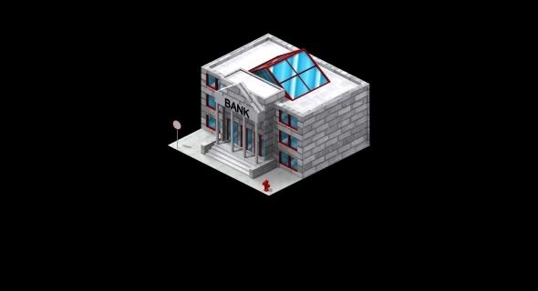 Bank - 3DOcean Item for Sale