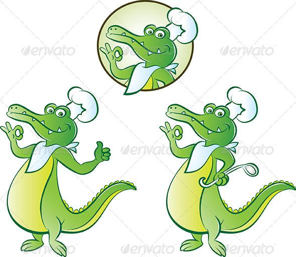 GraphicRiver Cook Croc 4629666