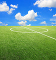 Soccer football field stadium - PhotoDune Item for Sale