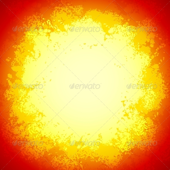 GraphicRiver Bright Red Vector Grunge Colorful Explosion 4630200