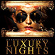 Luxury Night Party Flyer Template - GraphicRiver Item for Sale