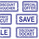 Business Discounts Rubber Stamps - GraphicRiver Item for Sale