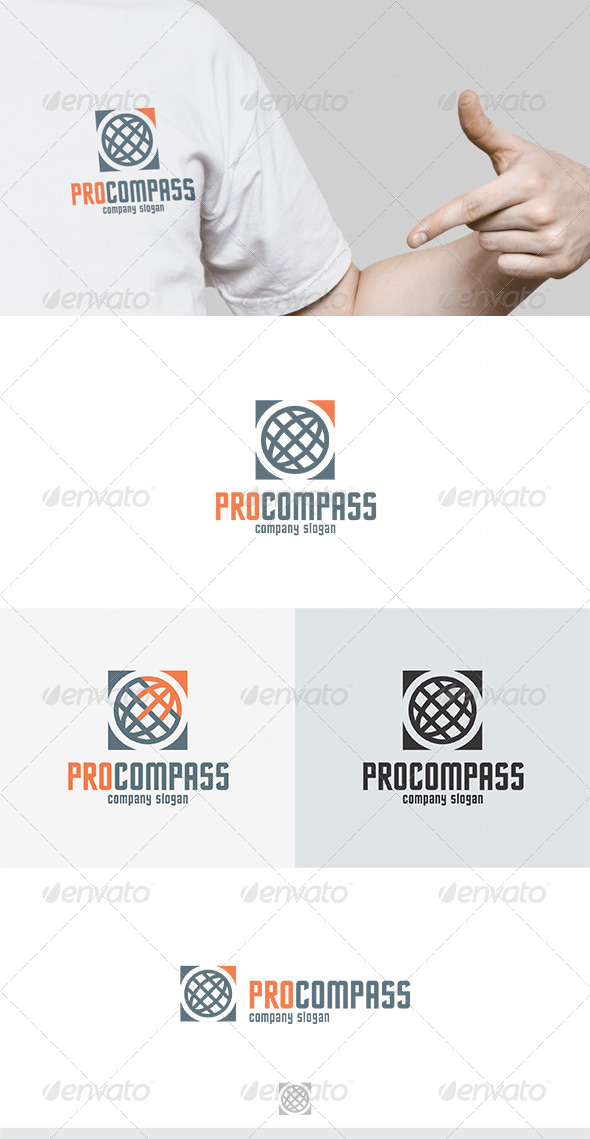 Pro Compass Logo - Symbols Logo Templates