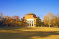 Landscape of Tsinghua University Campus in winter, China - PhotoDune Item for Sale