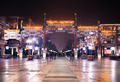 Night view of Qianmen,forbidden city, Beijing - PhotoDune Item for Sale