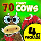 Funny Cows Illustrations Ver.4 - GraphicRiver Item for Sale