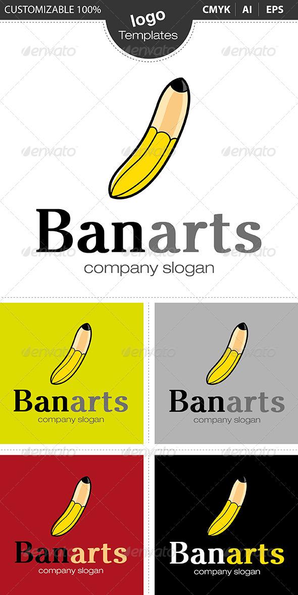 GraphicRiver Banarts Logo 4630605