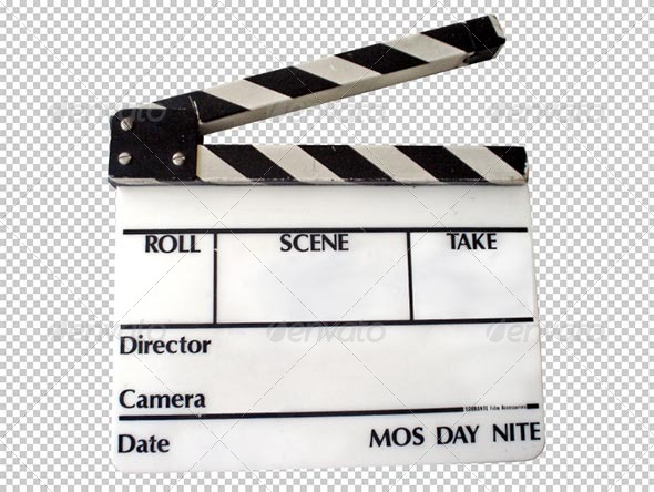 Clapperboard Transparency