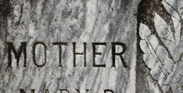 Mother Father Tombstone In Graveyard 2