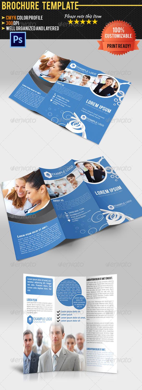 GraphicRiver Tri-Fold Corporate Business Brochure 4564765