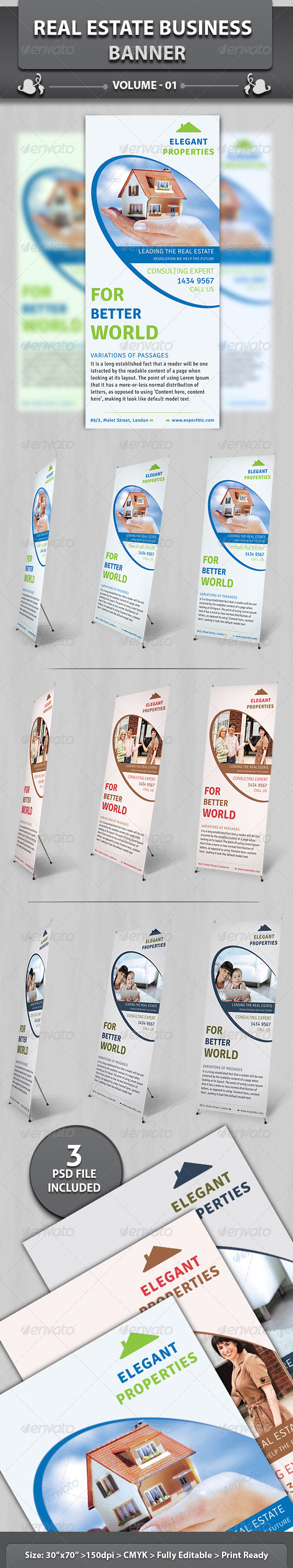 Real Estate Business Banner Volume 2