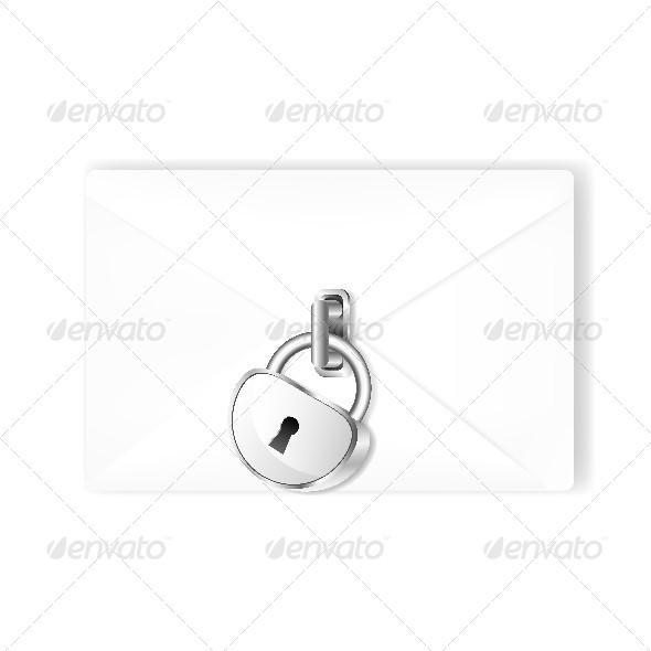 GraphicRiver Mail with Lock 4631441
