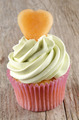 cupcake with mint butter cream - PhotoDune Item for Sale