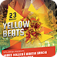Yellow Party Flyer - GraphicRiver Item for Sale