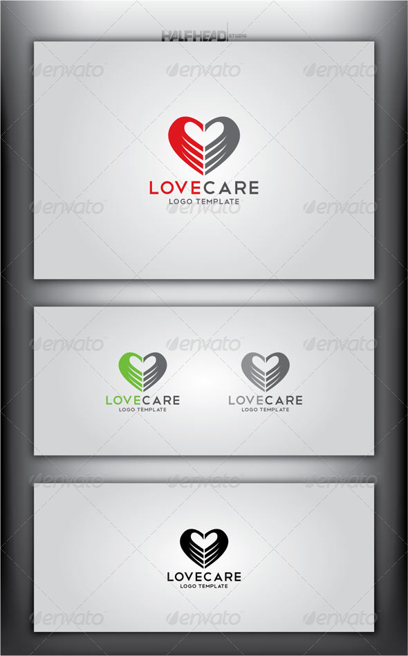 GraphicRiver LoveCare Logo Template 4631982