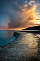 Dramatic Coastal Sunset - PhotoDune Item for Sale