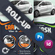 Car Wash Roll-Up Template - GraphicRiver Item for Sale