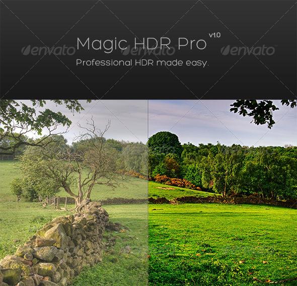 GraphicRiver Magic HDR Pro 4632560