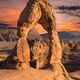 Delicate Arch and Storm Moab Utah - PhotoDune Item for Sale