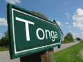 Tonga signpost along a rural road - PhotoDune Item for Sale