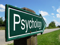 Psychology signpost along a rural road - PhotoDune Item for Sale