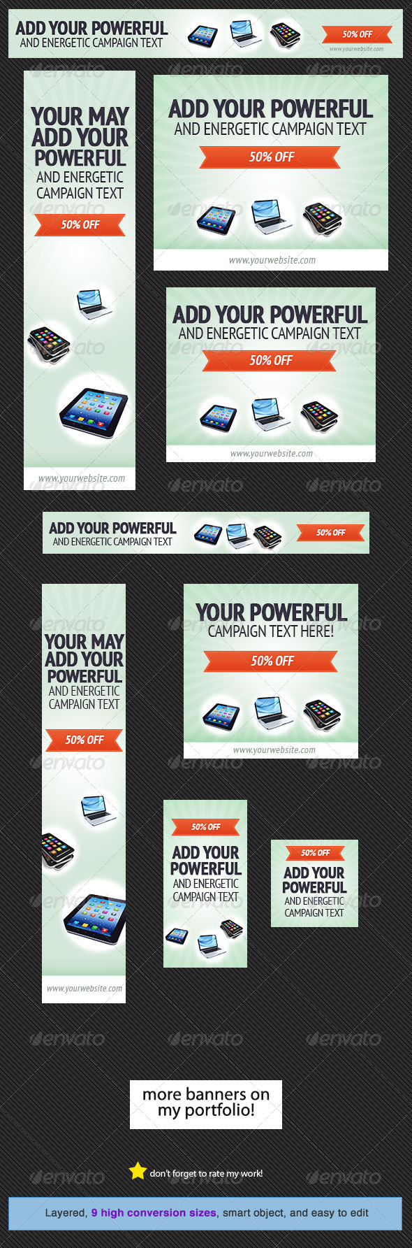 GraphicRiver Discount Web Banner Design 4633382
