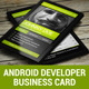 Android Developer Business Card - GraphicRiver Item for Sale
