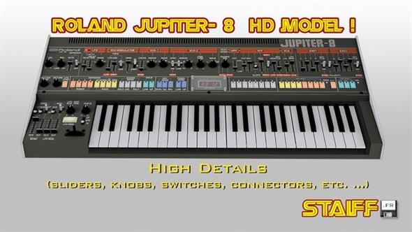 3DOcean Roland Jupiter-8 4633970