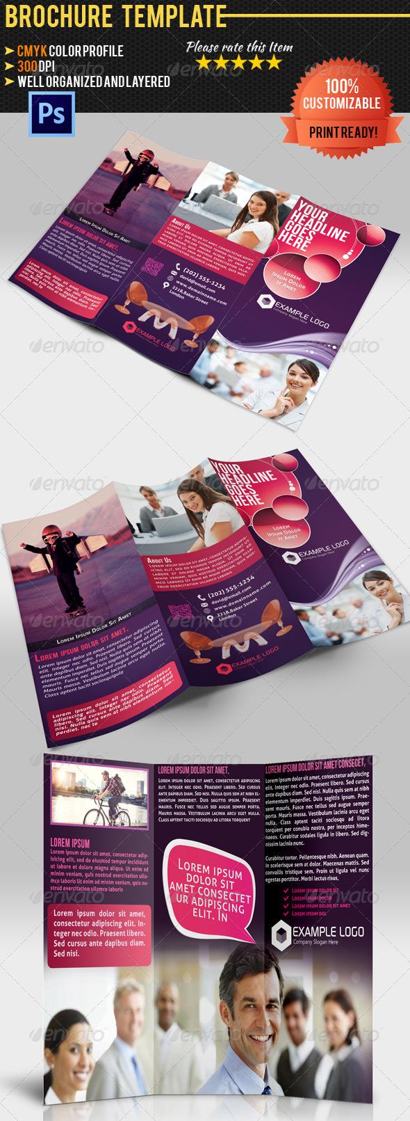 GraphicRiver Tri-Fold Corporate Business Brochure 4567710