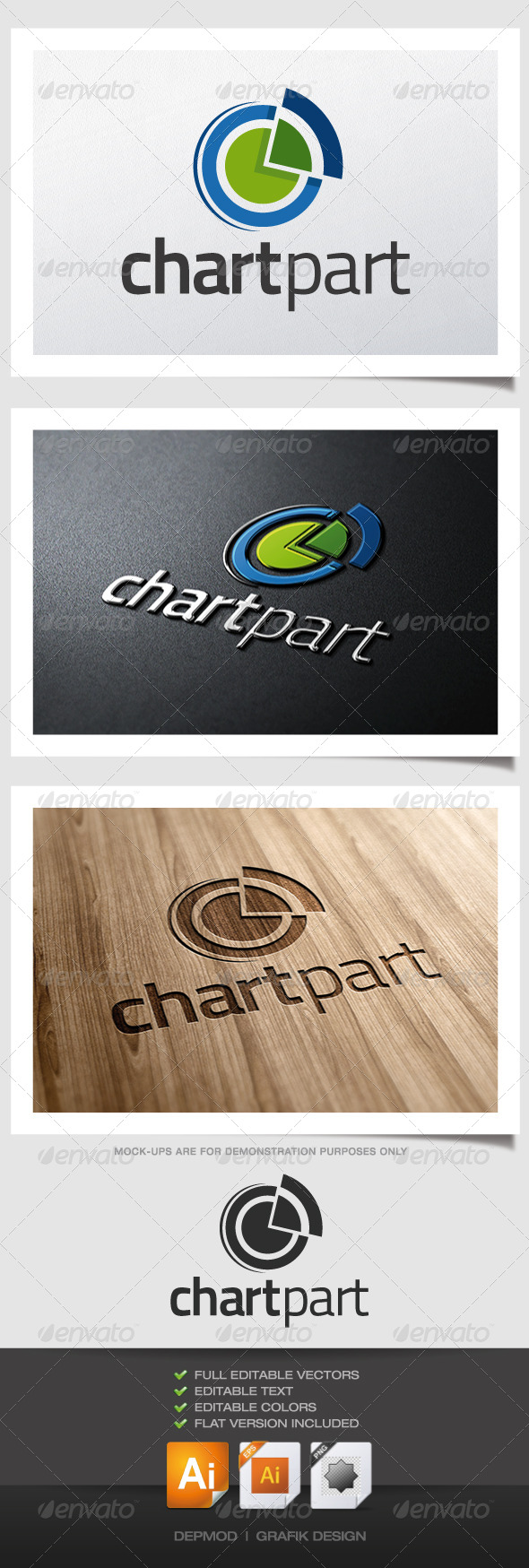 GraphicRiver Chart Part Logo 4634443