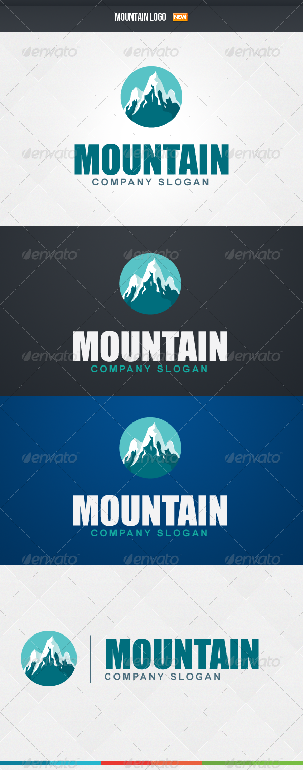 GraphicRiver Mountain Logo 4423473