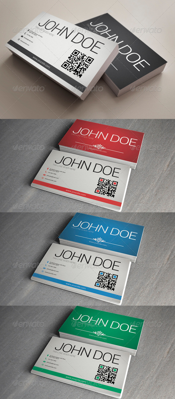 GraphicRiver Clean Business Card 3973219