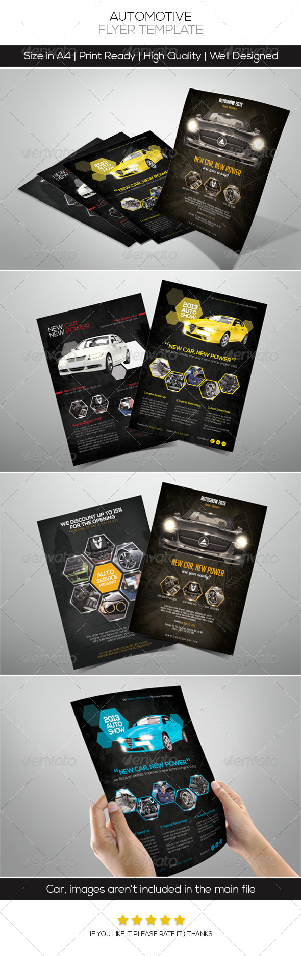 GraphicRiver Premium Automotive Flyers 4634727