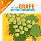 Grape Pattern Background - GraphicRiver Item for Sale