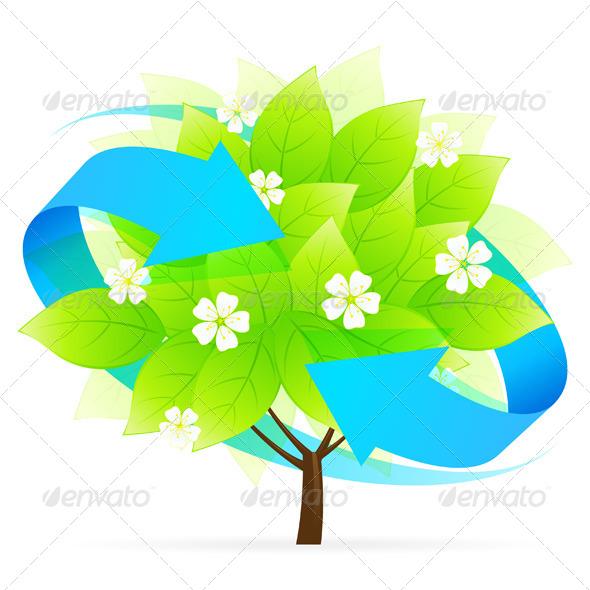 GraphicRiver Tree Icon 4635149