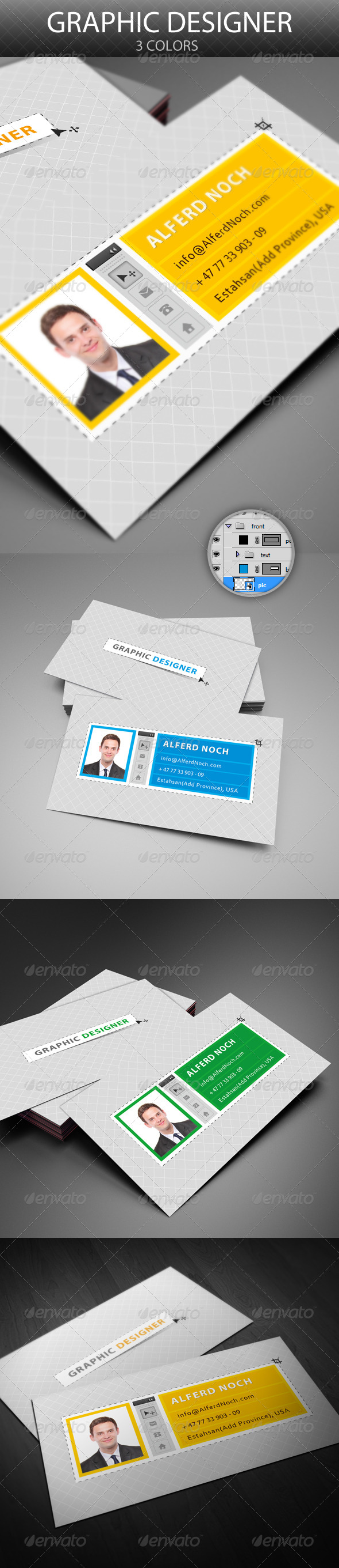 GraphicRiver Graphic Designer Photoshop Toolbar 4635276