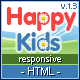 Happy Kids - Multipurpose HTML Template - ThemeForest Item for Sale