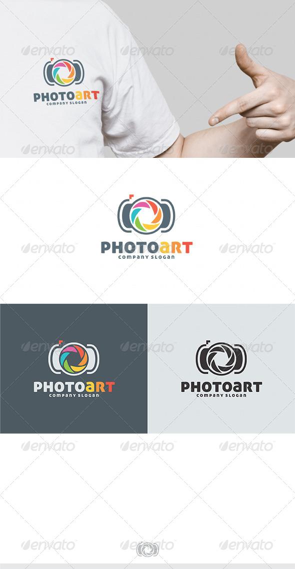 GraphicRiver Photo Art Logo 4635576
