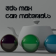 3ds Max Studio & 5 Car Modified Materials
