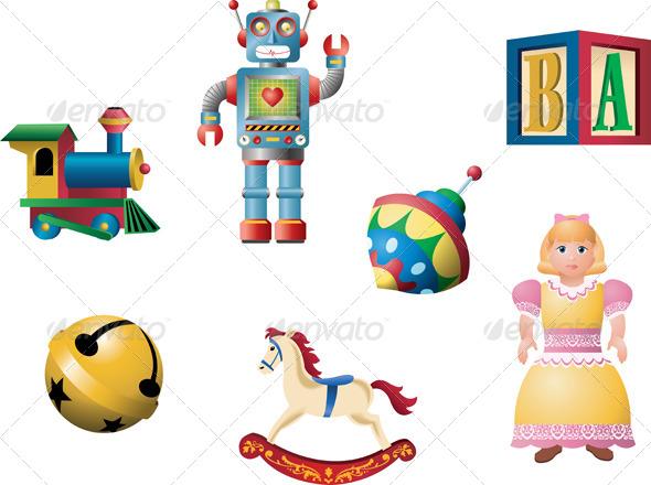 GraphicRiver Classic Toys 4636068