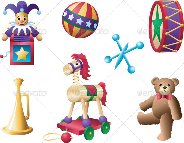 GraphicRiver Classic Toys 4636071