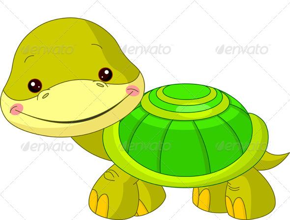 GraphicRiver Fun Zoo Turtle 4636207